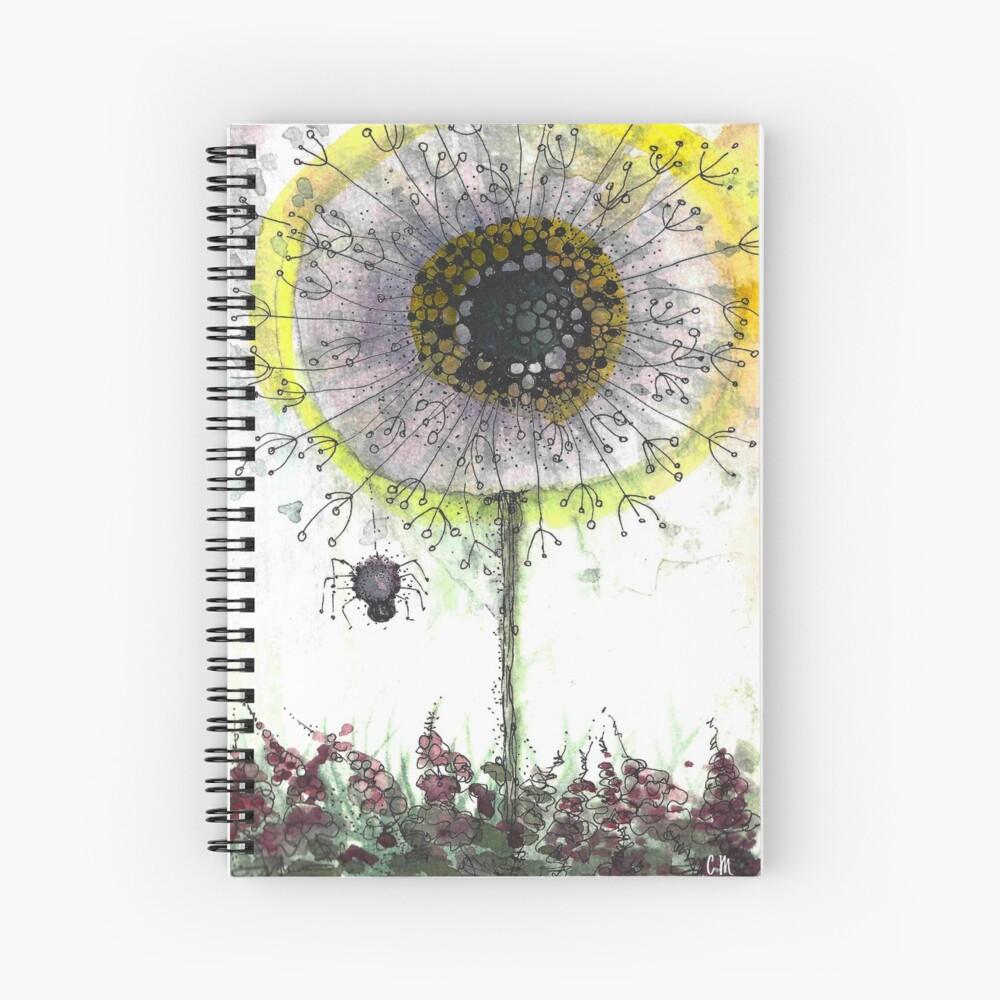 Dandy Little Spider and Wish Stick Spiral Notebook