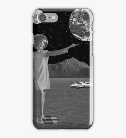 Black & White Collection -- On A Mission iPhone Case/Skin