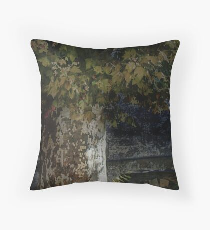 St Etienne textures Throw Pillow