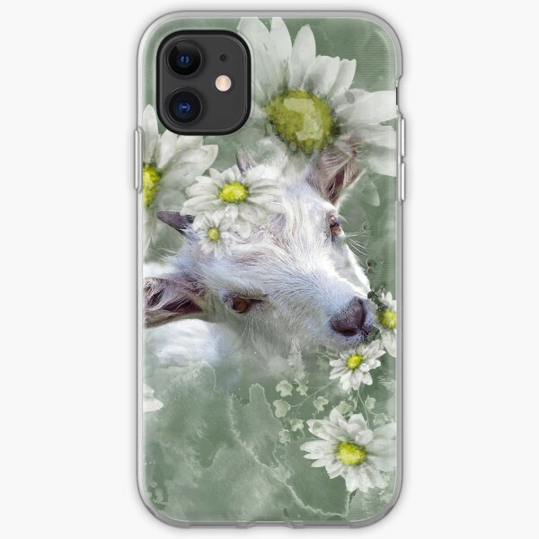 Don't Eat the Daisies Baby Goat iPhone Soft Case