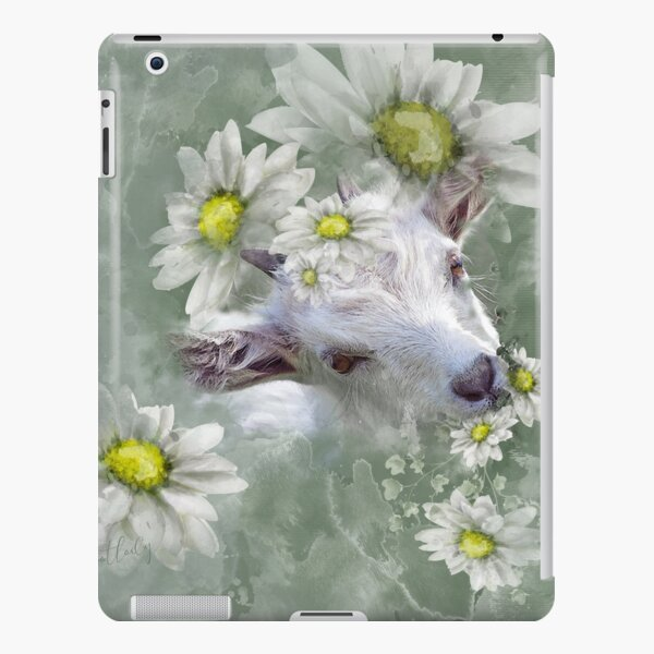 Don't Eat the Daisies Baby Goat iPad Snap Case