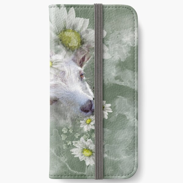Don't Eat the Daisies Baby Goat iPhone Wallet