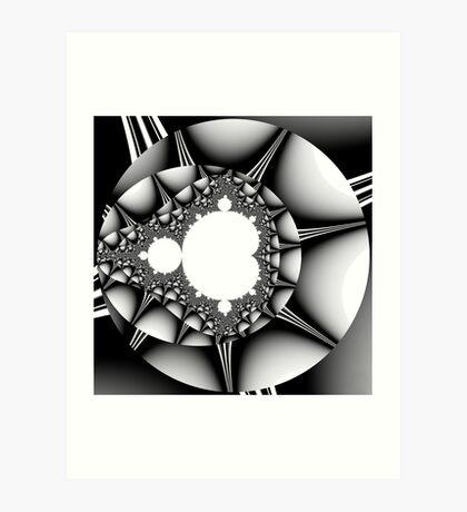Untitled XVIII - Black Art Print
