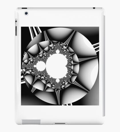 Untitled XVIII - Black iPad Case/Skin