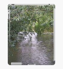 Willow over water iPad Case/Skin