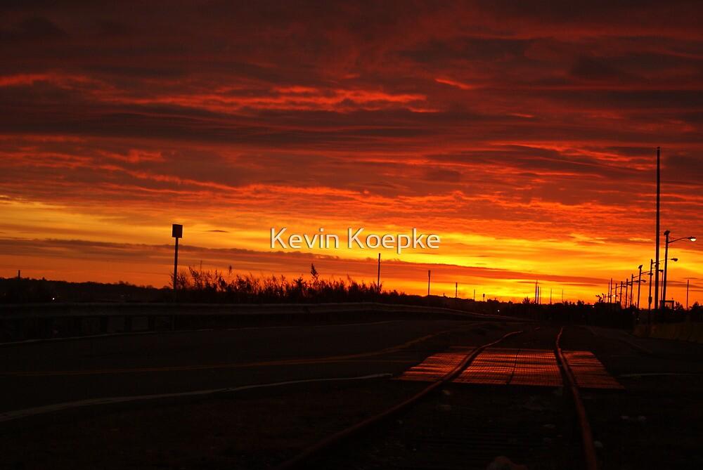 industrial dawn by Kevin Koepke
