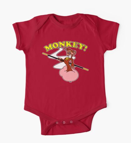 Monkey and his faithful Cloud Kids Clothes