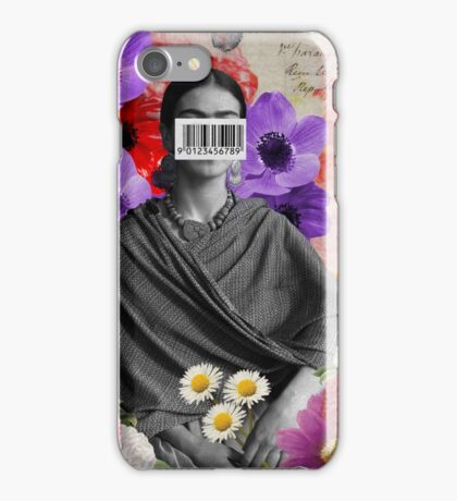 Public Figures Collection -- Frida by Elo iPhone Case/Skin