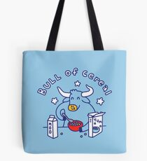 Bull of Cereal Tote Bag