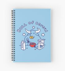Bull of Cereal Spiral Notebook