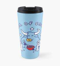 Bull of Cereal Travel Mug