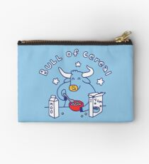 Bull of Cereal Zipper Pouch