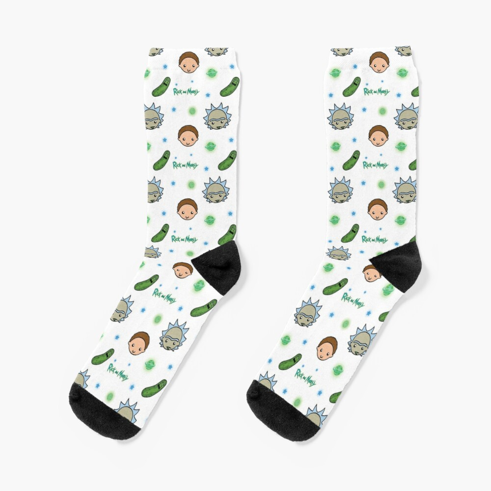 Rick and Morty space adventure Socks