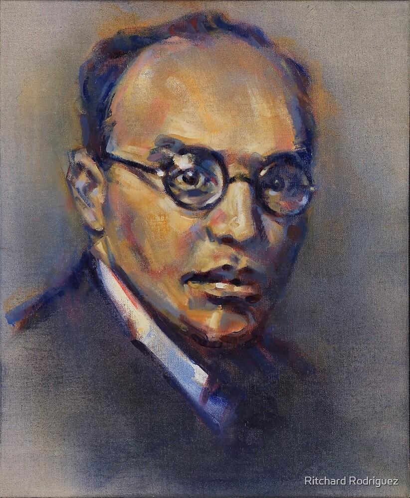 Portrait of Kurt Weill by Ritchard Rodriguez