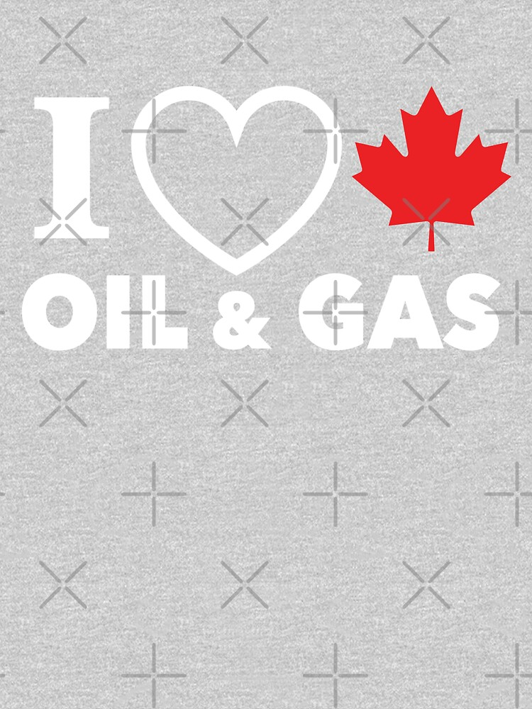 I Love Canadian Oil and Gas Red Heart and Maple Leaf Alberta Pipelines black background MCGA HD HIGH QUALITY ONLINE STORE by iresist