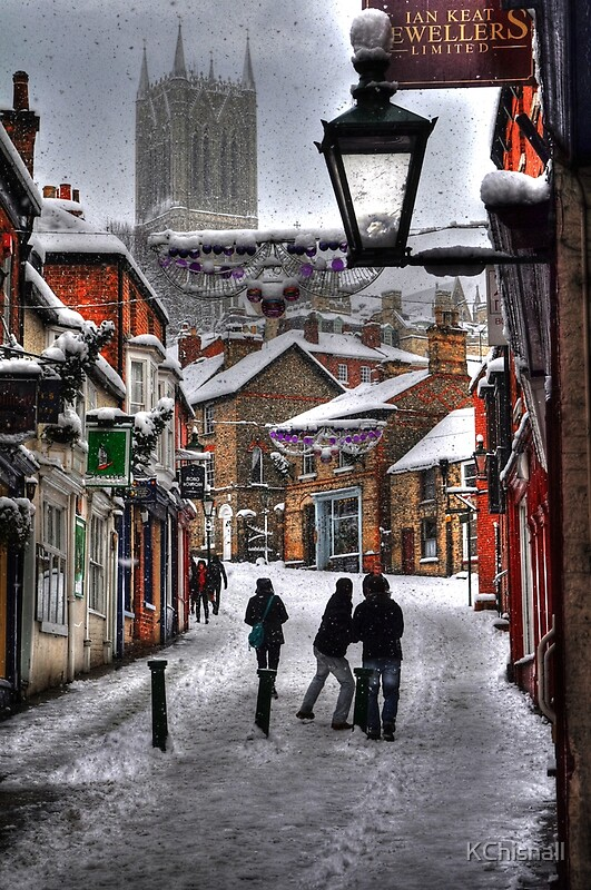 Quot A Winter Scene Quot By Kchisnall Redbubble
