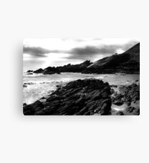 Collieston Beach, Aberdeenshire Canvas Print