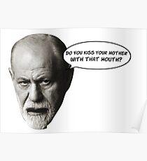 Freud macht Witze über deinen Ödipus-Komplex Poster