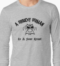Funny German Long Sleeve T-Shirt