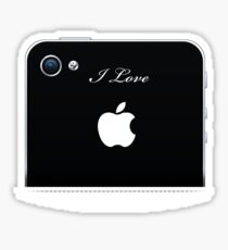 i love iPhone Sticker