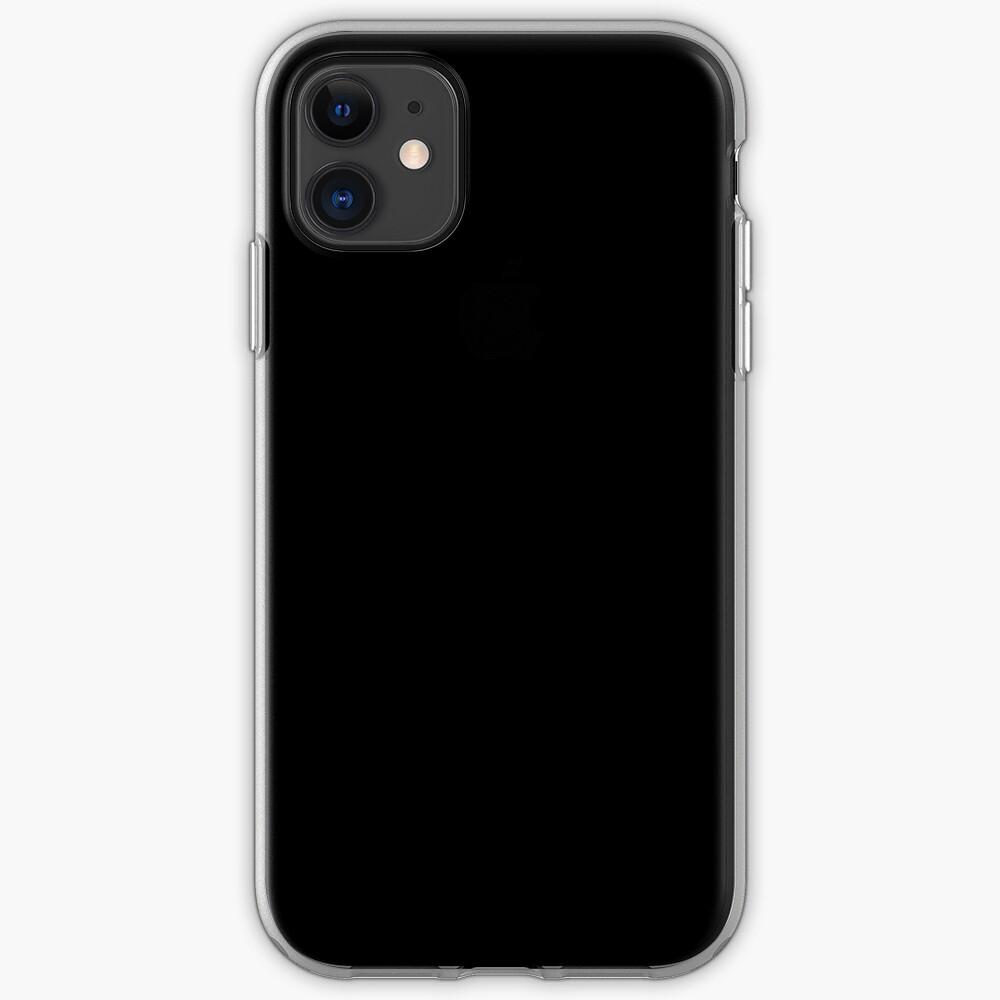 De color negro Funda y vinilo para iPhone