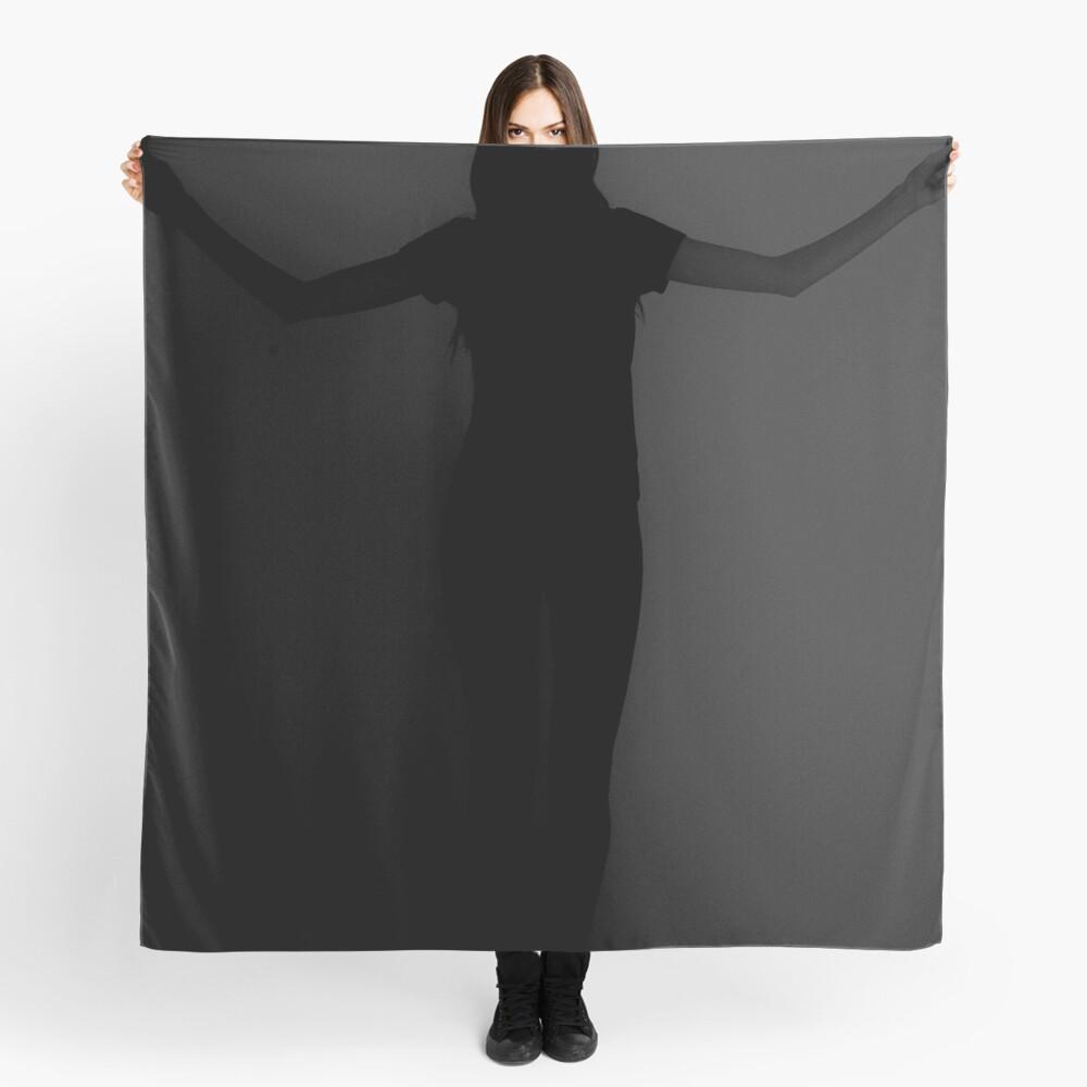 De color negro Pañuelo