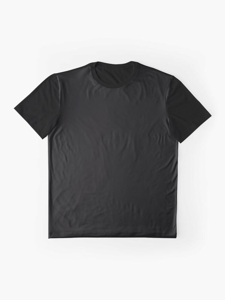 Vista alternativa de Camiseta gráfica De color negro