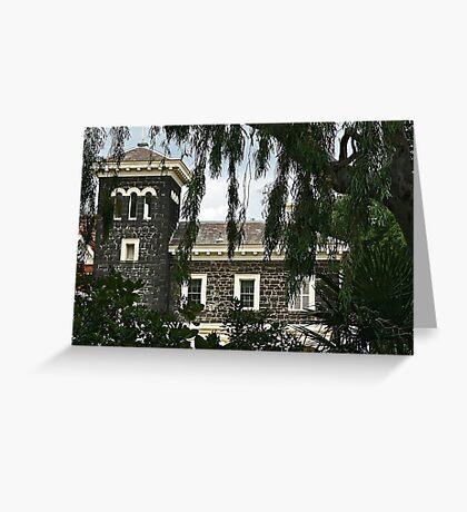 Bluestone mansion Greeting Card