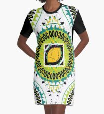 Beach Style for the Maiden Graphic T-Shirt Dress
