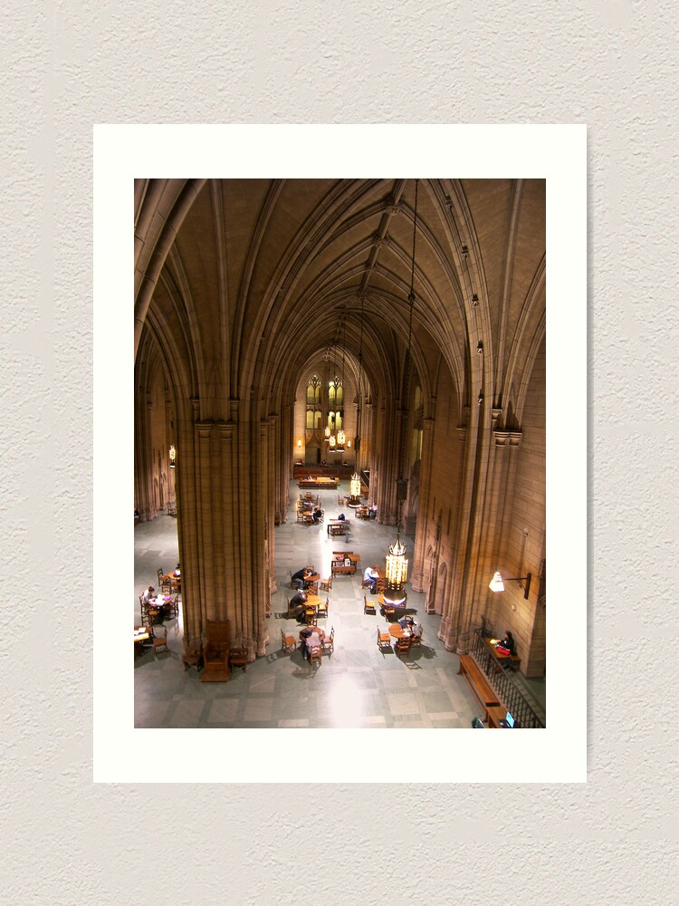 Alternate view of Cathedral of Learning Art Print
