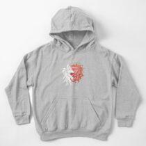 The last unicorn - Yin Yang Kids Pullover Hoodie