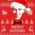Bill Nye Merry Nyemas Ugly Christmas Sweater von idaspark