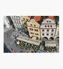 Prague's Old Town Square Photographic Print