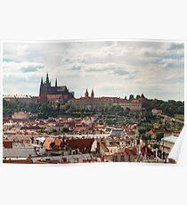 Prague Castle - Prague, Czech Republic Poster