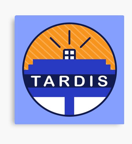 Iconic TARDIS Canvas Print