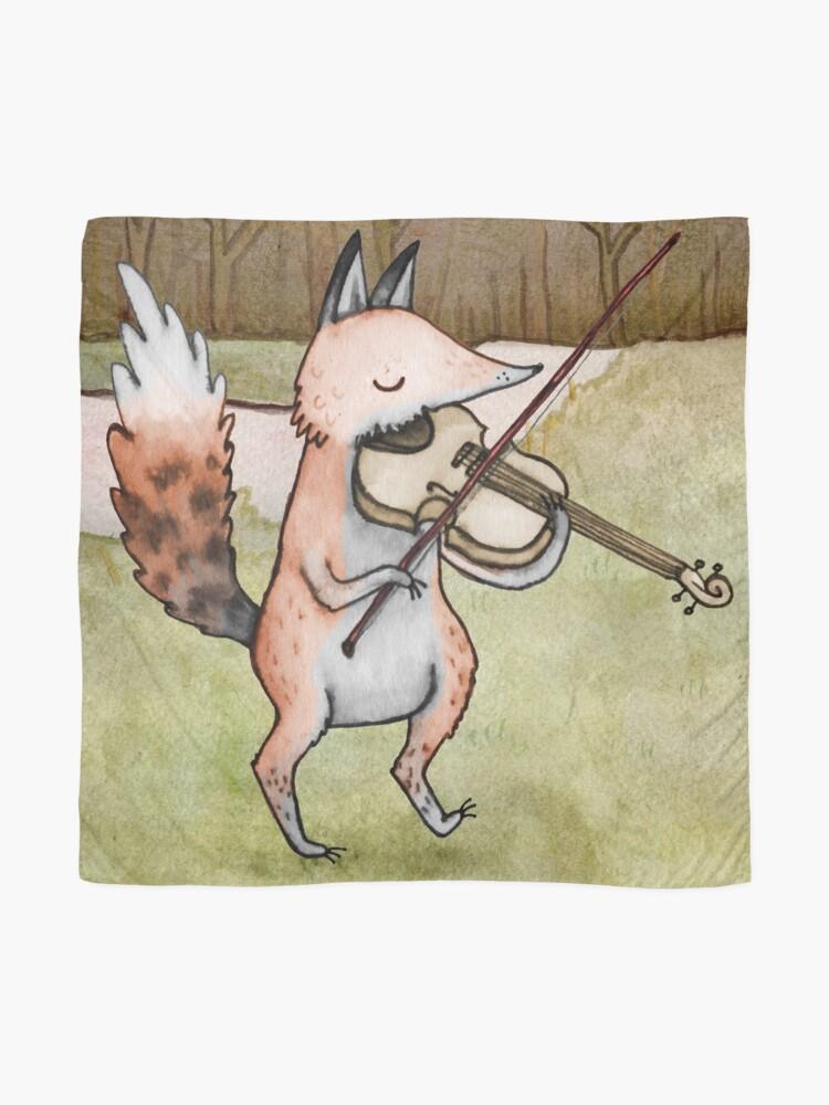 Alternate view of Violin Fox Scarf