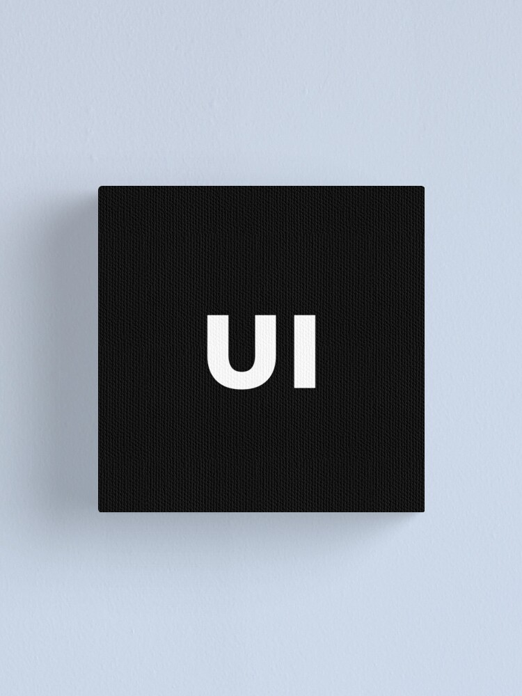Alternate view of UI (User Interface) Designer Developer Canvas Print