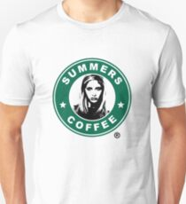 Buffy The Vampire Slayer - Summers Coffee T-Shirt