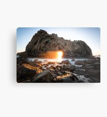 The Keyhole at Pfeiffer Beach Metal Print