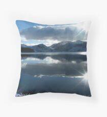 Crummock Winter Throw Pillow