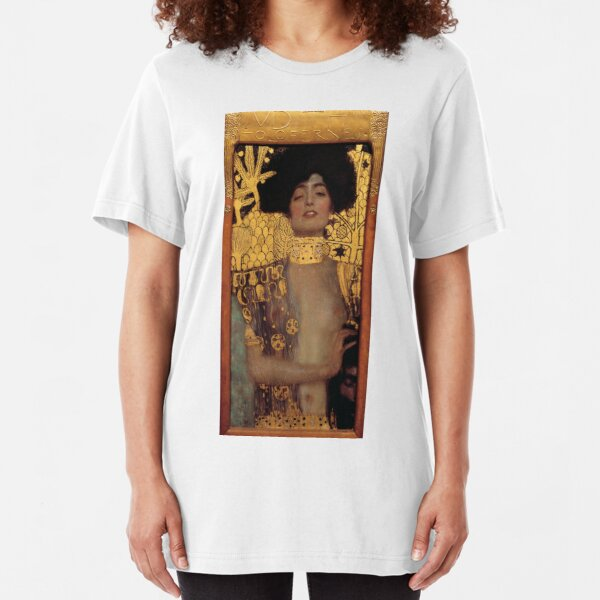 Judith and the Head of Holofernes (also known as Judith I) is an oil painting by Gustav Klimt created in 1901. It depicts the biblical character of Judith Slim Fit T-Shirt