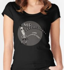 The Mr. Poopybutthole Show Women's Fitted Scoop T-Shirt