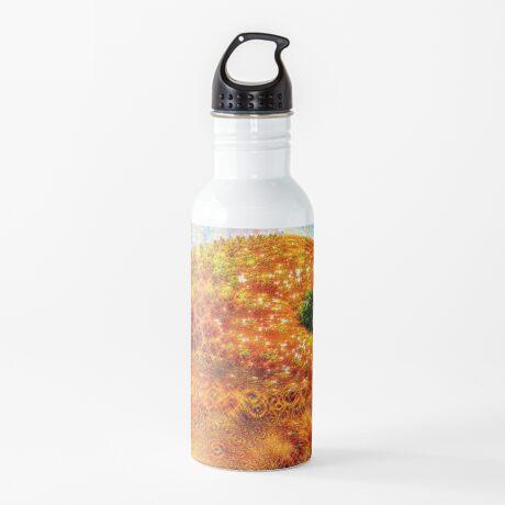 #DeepDreamed Frozen Orange Water Bottle