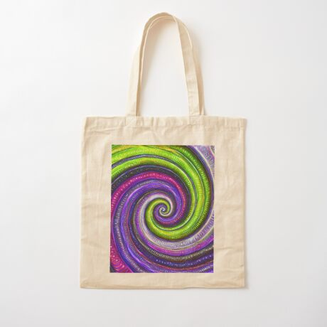Source #DeepDream #Art Cotton Tote Bag