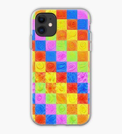 #DeepDream color factures iPhone Case