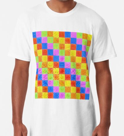 #DeepDream color factures Long T-Shirt