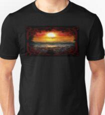 Beauty in Destruction. Nuclear Sunset. Unisex T-Shirt