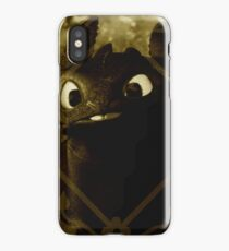 Toothless the night fury iPhone Case/Skin