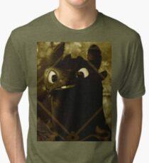 Toothless the night fury Tri-blend T-Shirt