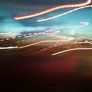 lights on sunset by Mariella Rivera